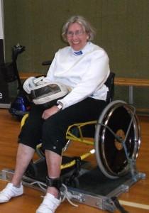 Kørestolsfægter